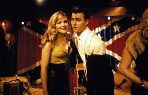 Amy Locane and Johnny Depp star in John Waters' Cry-Baby.