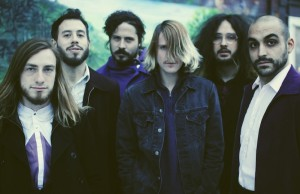 Foxy Shazam's Alex Nauth, Aaron McVeigh, Loren Turner, Eric Nally, Daisy Caplan and Sky White (Steven King)