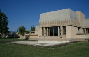 The Hollyhock House, designed by Frank Lloyd Wright (City of Los Angeles)