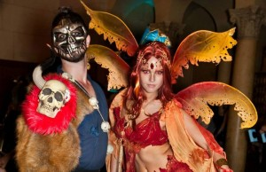 Guests outfitted themselves in fantastical and unique costume creations. (Greg Autry)