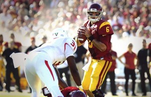 Quarterback Cody Kessler led the Trojans to their first victory of the 2014/15 season. (Instagram)