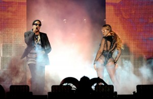 Jay and Bey brought out the town to the Rose Bowl over the weekend. (Frank Micelotta/PictureGroup)