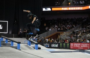 Paul Rodriguez at the SLS Nike SB Tour stop in Los Angeles (Pablo Lopez/Living Out Loud LA)