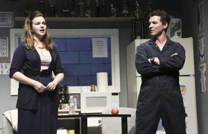"Amber Tamblyn and Shawn Hatosy in ""Reasons to Be Pretty"" (Michael Lamont)"