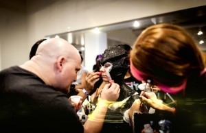 It's never too early to start preparing for Oct. 31; ScareLA's workshops include master classes in makeup. (Magic Box The Reef)