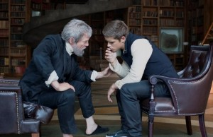 Jeff Bridges and Brenton Thwaites star in The Giver. (The Weinstein Company)