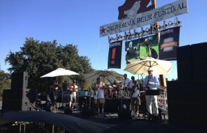 The Bomb performing at the 2014 California Beer Festival (Evan Solano/Living Out Loud LA)