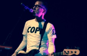 Matt Sharp of the Rentals performing at the Fonda Theatre Sept. 5 (Brenda Camberos/Living Out Loud LA)