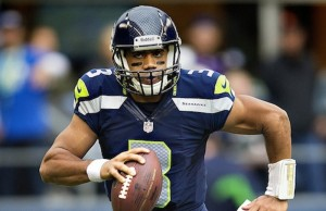 Russell Wilson of the Seattle Seahawks, the best team in the league (Larry Maurer)
