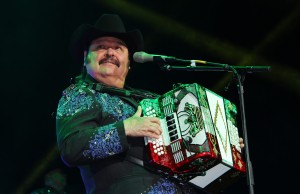 Regional Mexican music singer Ramon Ayala performs on Saturday, Feb. 21, 2015 at Honda Center in Anaheim, Calif. (Ramon Aviles/Living Out Loud LA)