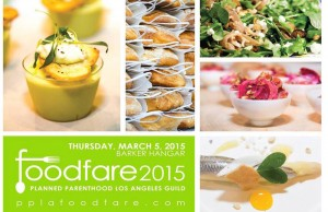 The 2015 PPLA Food Fare is slated for March 5, 2015 at Barker Hangar in Santa Monica, Calif.