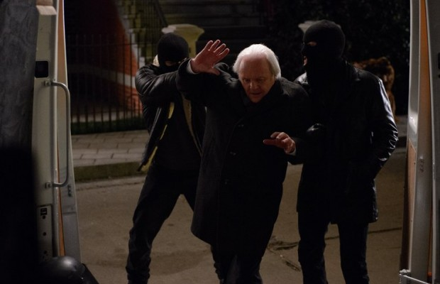 Anthony Hopkins, middle, in Kidnapping Mr. Heineken. (Alchemy)