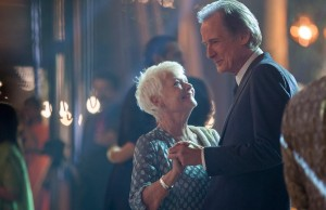 Judi Dench as Evelyn Greenslade and Bill Nighy as Douglas Ainslie in The Second Best Exotic Marigold Hotel. (Fox Searchlight Pictures)