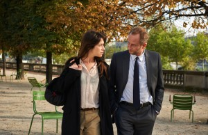 Charlotte Gainsbourg and Benoît Poelvoorde in 3 Hearts. (Cohen Media Group)