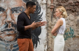 Will Smith and Margot Robbie in a scene of Focus. (Warner Bros. Pictures)