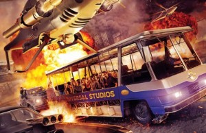 "Universal Studios Hollywood's ""Fast & Furious—Supercharged."" (Universal Studios Hollywood)"