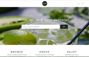 Minibar allows users to purchase a large selection of beer, wine, cider, and hard liquor through local vendors. (Screenshot of minibardelivery.com)