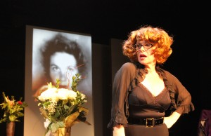 """Angelica Page in """"Turning Page,"""" which pays tribute to her mother Geraldine Page. (Courtesy of Ty Donaldson)"""