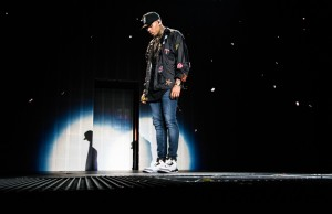 """Chris Brown performs during the """"Between The Sheets Tour"""" concert on Sunday, March 8, 2015 at The Forum in Inglewood, Calif. (Andrew Carrillo/Living Out Loud LA)"""