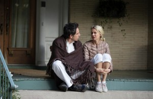 Ben Stiller and Naomi Watts in While We're Young. (Jon Pack/A24)