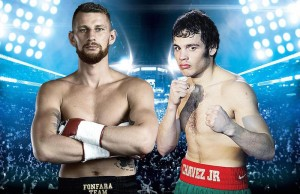 Boxers Andrzej Fonfara and Julio Cesar Chavez Jr. are scheduled to face each other in Carson, Calif. (Showtime)