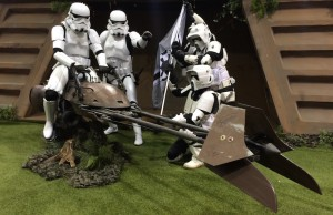 Stormtroopers at the 2015 Star Wars Celebration at the Anaheim Convention Center in Anaheim, Calif. (David Tobin/Living Out Loud LA)