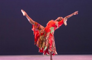 "AAADT'S Hope Boykin in Matthew Rushing's ""Odetta."" (Steve Wilson)"