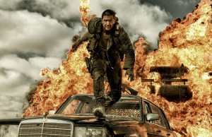 Tom Hardy as Max Rockatansky in Mad Max: Fury Road. (Jasin Boland / Warner Bros. Pictures)