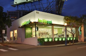 The West Hollywood shop is one of six Healthy Spot locations throughout Southern California.