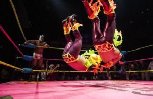 Lucha VaVOOM's Crazy Chickens (Courtesy of Lucha VaVOOM)