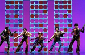 "The Jackson 5 is just one of the incredible musical acts that are included in ""Motown: The Musical."" (Joan Marcus)"