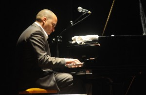 "Pianist Daniel Amat led a group of master musicians in paying tribute to ""The Classical Side of Cuban Music."""