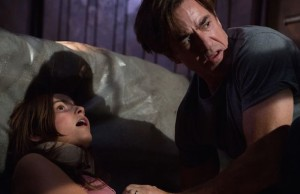 Quinn (Stefanie Scott) and her father Sean (Dermot Mulroney) in Insidious: Chapter 3 (Matt Kennedy/Focus Features)