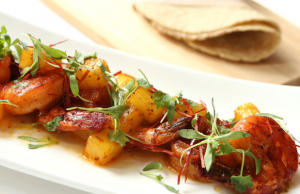 Viento's Al Pastor Shrimp are impeccably seasoned and incredibly juicy.