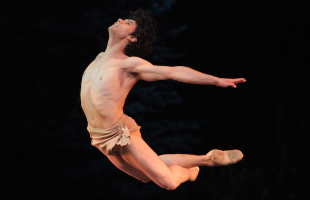 Herman Cornejo showed why he is one of the most exciting male dancers in the world in BalletNow. (Erin Baiano)