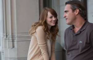 Emma Stone and Joaquin Phoenix deliver in Irrational Man. (Sabrina Lantos/Sony Pictures Classics)