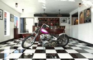Get more than just a haircut at the L.A. location of Frank's Chop Shop.