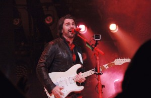 Juanes performed the second of two sold-out nights at Microsoft Theater Aug. 1. (Marvin Vasquez/LOL-LA)