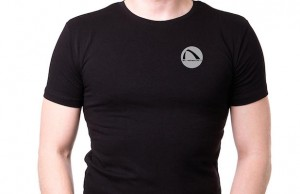 SilverSport's Men's Round Neck Black Tee ($30) is great for the gym or just hanging out.