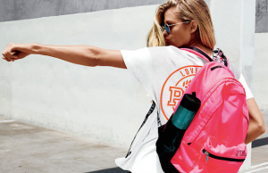 Find deals on everything you need for back to school, like this Victoria's Secret PINK backpack, at the Beverly Center.