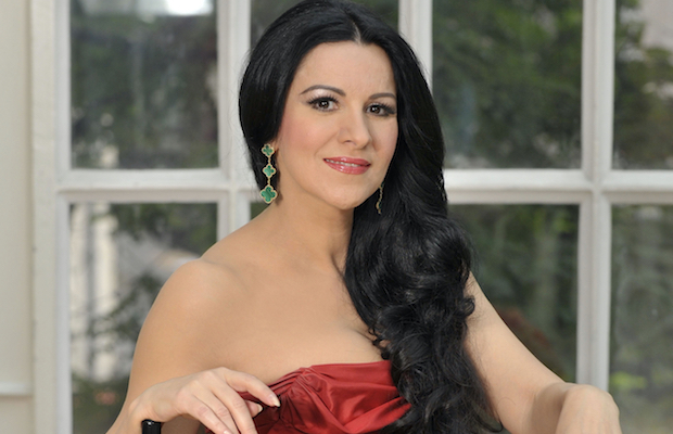 The warm and charming Angela Gheorghiu treated the audience to night full of passionate songs. (Nigel Norrington)