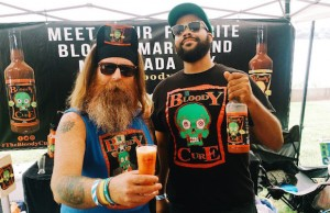 The Bloody Cure served up a great Bloody Mary/Michelada mix at California Beer Festival. (Evan Solano/LOL-LA)