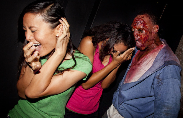 Being scared, screaming, running from monsters – it's all in the spirit of Universal Studios Halloween Horror Nights.