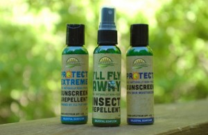 Get one bottle of Protect Sunscreen or I'll Fly Away Insect Repellent for under $7 at MyGreenFills.com.