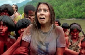 Lorenza Izzo stars as Justine in The Green Inferno.