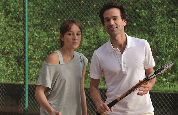 Anaïs Demoustier and Romain Duris in The New Girlfriend (Cohen Media Group)
