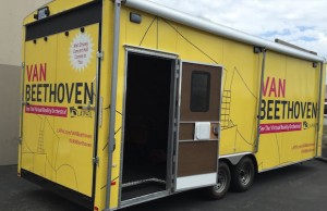 Catch the VAN Beethoven mobile experience as it tours Los Angeles through Oct. 18.