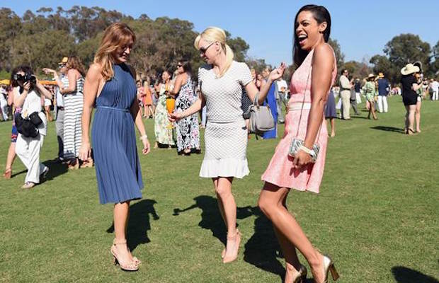 Celebrities like Anna Faris and Rosario Dawson have had a blast at Veuve Clicquot's Polo Classic.