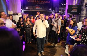 Chef Aarón Sánchez hosted the Tacos & Tequila event at NYCWFF. (Mexico)