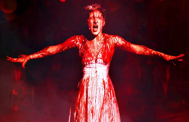 """Emily Lopez as Carrie in """"Carrie: The Killer Musical Experience"""" (Jason Niedle)"""